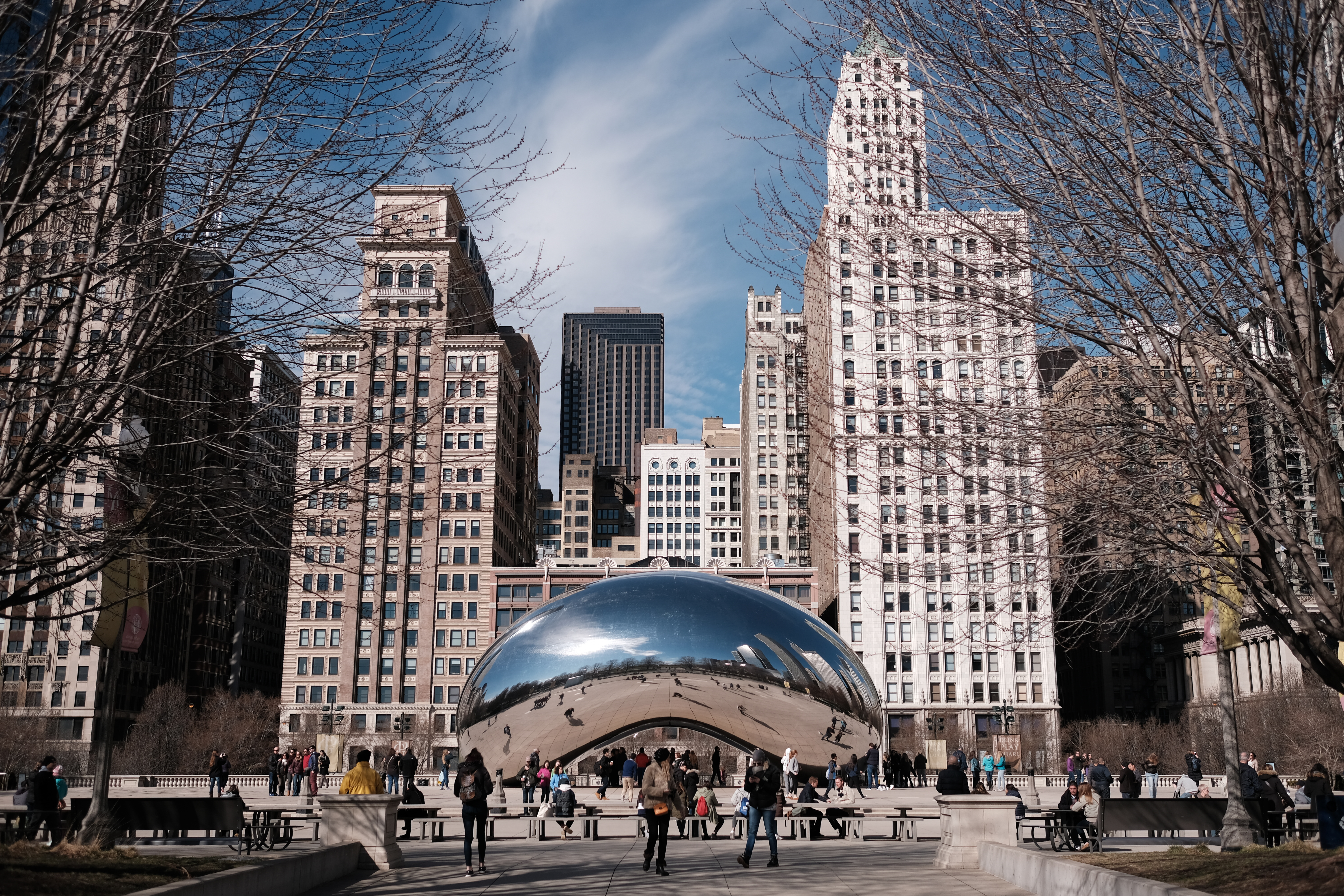 Derek snapped a picture of Cloud Gate during his recent trip to Chicago.